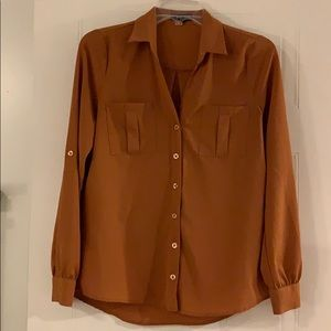 MINE- Button down Top, size Small